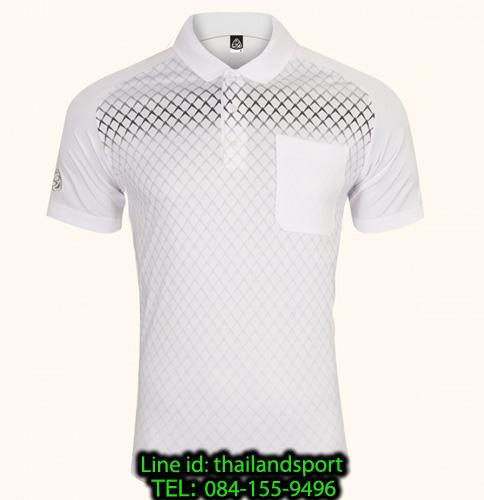เสื้อโปโลกีฬา polo sport   อีโก้ รุ่น eg 6159 (สีขาว) man