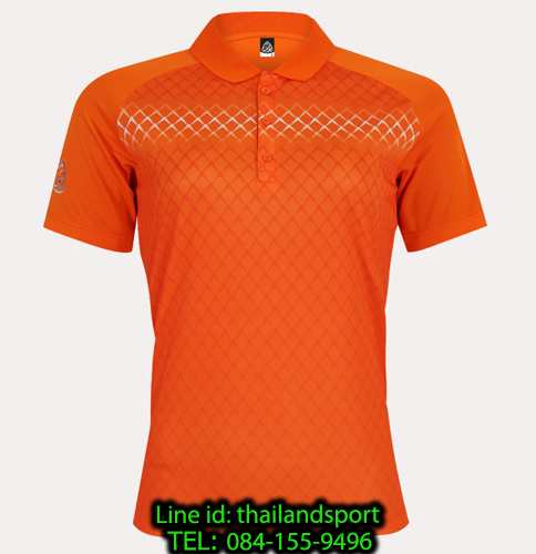 เสื้อโปโลกีฬา polo sport อีโก้ ego sport รุ่น eg 6160 (สีส้มแสด) women