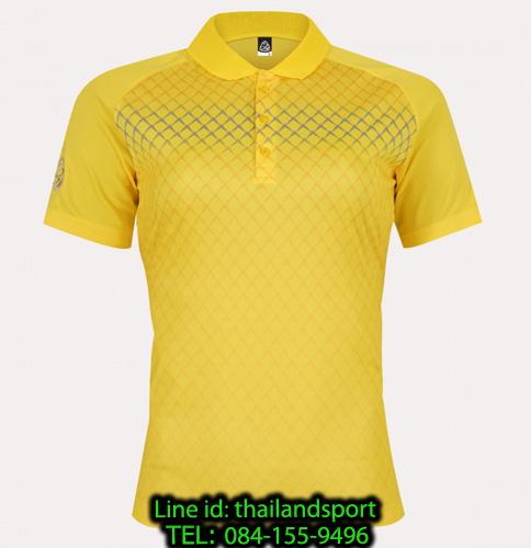 เสื้อโปโลกีฬา polo sport  อีโก้ ego sport รุ่น eg 6160 (สีเหลืองจันทร์) women