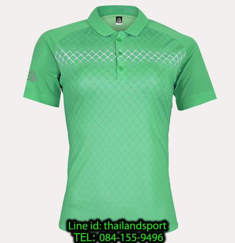 เสื้อโปโลกีฬา polo sport  อีโก้ ego sport รุ่น eg 6160 (สีเขียวพาร์คกรีน) women