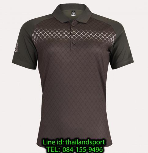 เสื้อโปโลกีฬา polo sport  อีโก้ ego sport รุ่น eg 6160 (สีเทาเปียกปูน) women