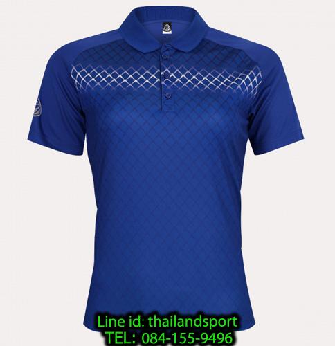 เสื้อโปโลกีฬา polo sport อีโก้ ego sport รุ่น eg 6160 (สีน้ำเงิน) women