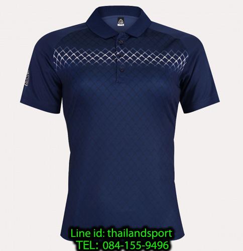 เสื้อโปโลกีฬา polo sport  อีโก้ ego sport รุ่น eg 6160 (สีกรม) women