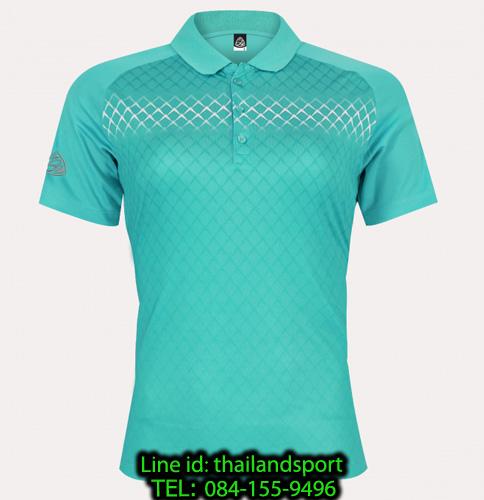 เสื้อโปโลกีฬา polo sport อีโก้ ego sport รุ่น eg 6160 (สีฟ้าแคริบเบียน) women