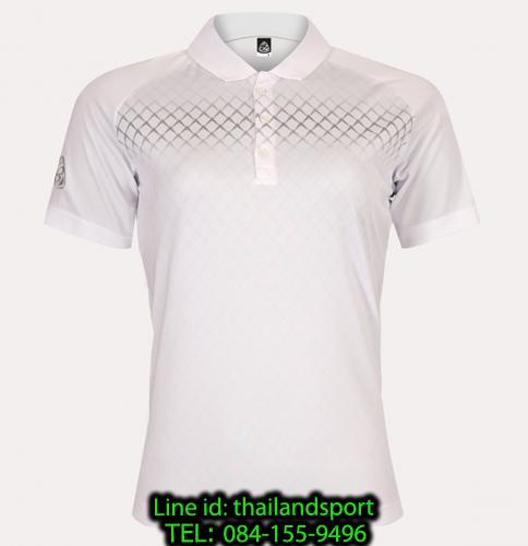 เสื้อโปโลกีฬา polo sport  อีโก้ ego sport รุ่น eg 6160 (สีขาว) women