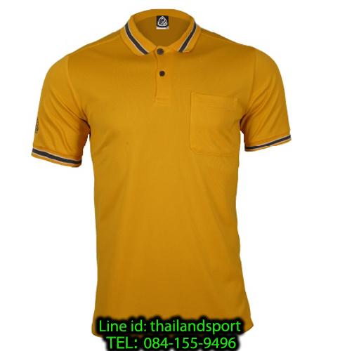 เสื้อโปโลกีฬา polo sport อีโก้ รุ่น eg 6163 (สีเหลืองทอง) man