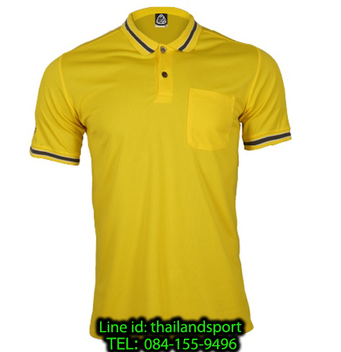 เสื้อโปโลกีฬา polo sport อีโก้ รุ่น eg 6163 (สีเหลืองจัน) man
