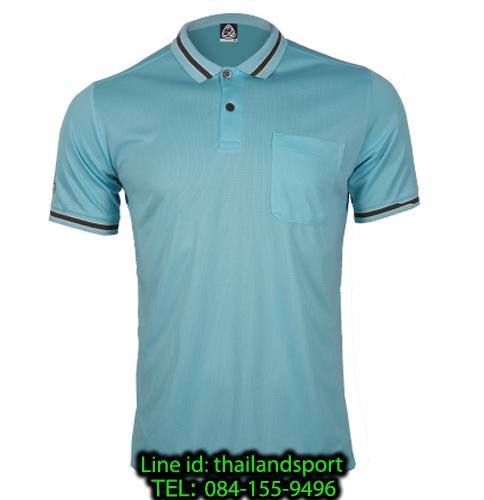 เสื้อโปโลกีฬา polo sport  อีโก้ รุ่น eg 6163 (สีฟ้าแคริบเบียน) man