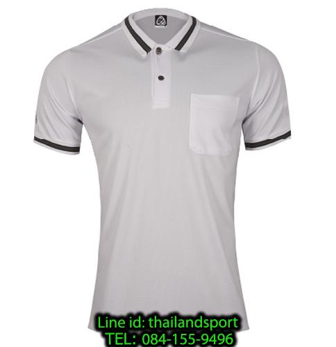 เสื้อโปโลกีฬา polo sport  อีโก้ รุ่น eg 6163 (สีขาว) man