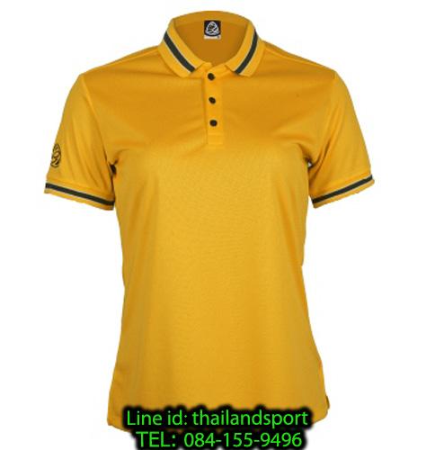 เสื้อโปโลกีฬา polo sport อีโก้ ego sport รุ่น eg 6164 (สีเหลืองทอง) women
