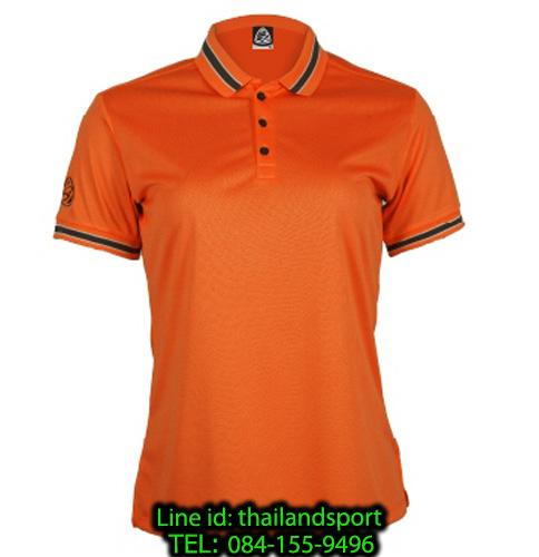 เสื้อโปโลกีฬา polo sport อีโก้ ego sport รุ่น eg 6164 (สีส้มแสด) women