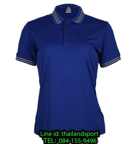 เสื้อโปโลกีฬา polo sport อีโก้ ego sport รุ่น eg 6164 (สีน้ำเงิน) women