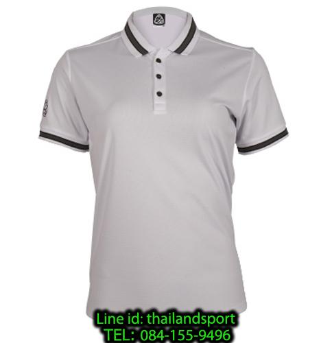 เสื้อโปโลกีฬา polo sport อีโก้ ego sport รุ่น eg 6164 (สีขาว) women