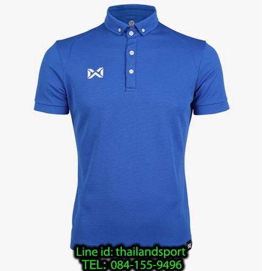 เสื้อโปโลกีฬา polo วอริกซ์ warrix รุ่น wa-3315n (สีน้ำเงินเข้ม dt )