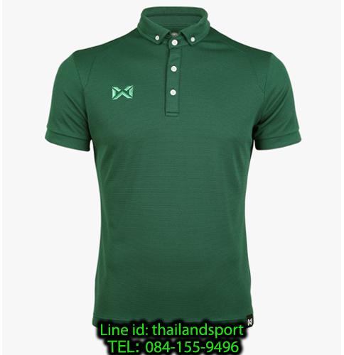 เสื้อโปโลกีฬา polo วอริกซ์ warrix รุ่น wa-3315n (สีเขียว gg)