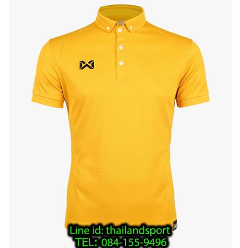 เสื้อโปโลกีฬา polo วอริกซ์ warrix รุ่น wa-3315n (สีทอง nn)