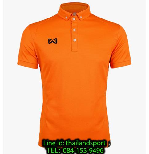 เสื้อโปโลกีฬา polo วอริกซ์ warrix รุ่น wa-3315n (สีส้ม oo)