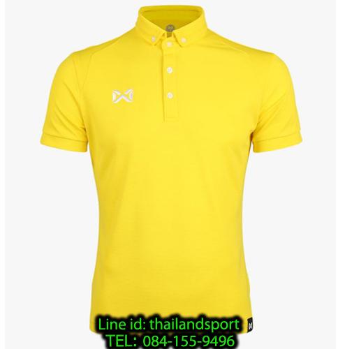 เสื้อโปโลกีฬา polo วอริกซ์ warrix รุ่น wa-3315n (สีเหลือง yw)