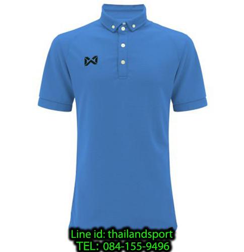 เสื้อโปโลกีฬา polo วอริกซ์ warrix รุ่น wa-3315n (สีฟ้า ll)