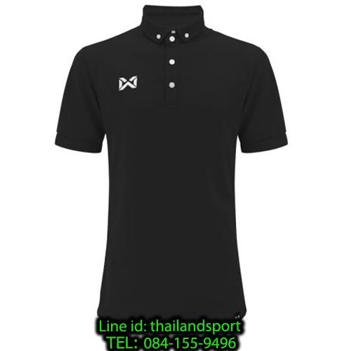 เสื้อโปโลกีฬา polo วอริกซ์ warrix รุ่น wa-3315n (สีดำ aa)