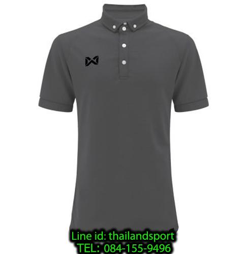 เสื้อโปโลกีฬา polo วอริกซ์ warrix รุ่น wa-3315n (สีเทา ee)