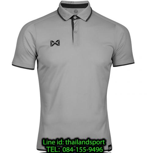 เสื้อโปโลกีฬา polo วอริกซ์ warrix รุ่น wa-3328 (สีเทา ee)