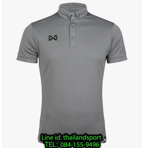 เสื้อโปโลกีฬา polo วอริกซ์ warrix รุ่น wa-3324 (สีเทา ee)