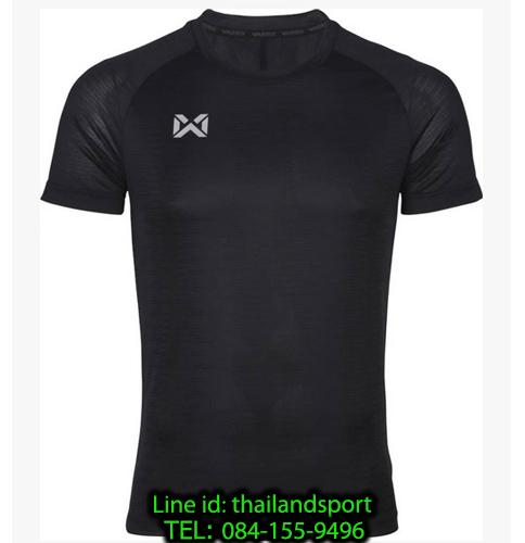 เสื้อกีฬา วอริค warrix รหัส wa-204tsacl01 (สีดำ aa)