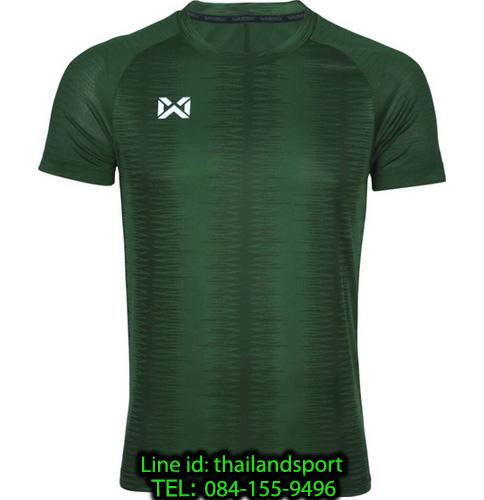 เสื้อกีฬา วอริค warrix รหัส wa-204tsacl01 (สีเขียว gg)
