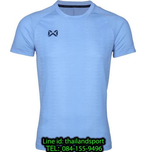 เสื้อกีฬา วอริค warrix รหัส wa-204tsacl01 (สีฟ้า ll)