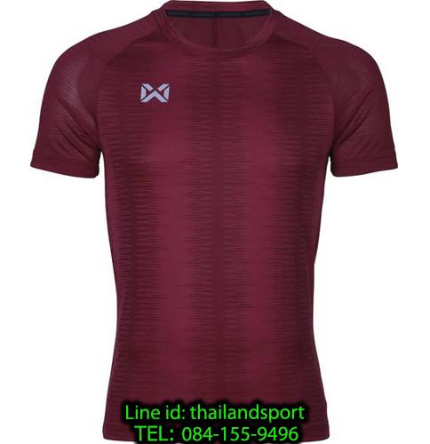 เสื้อกีฬา วอริค warrix รหัส wa-204tsacl01 (สีเลือดหมู mm)
