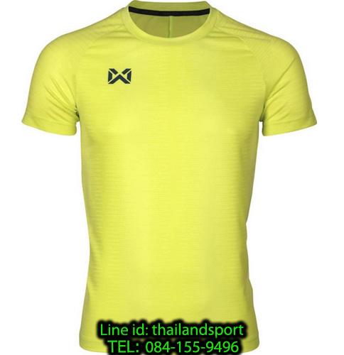 เสื้อกีฬา วอริค warrix รหัส wa-204tsacl01 (สีเขียวสะท้อนแสง g2)