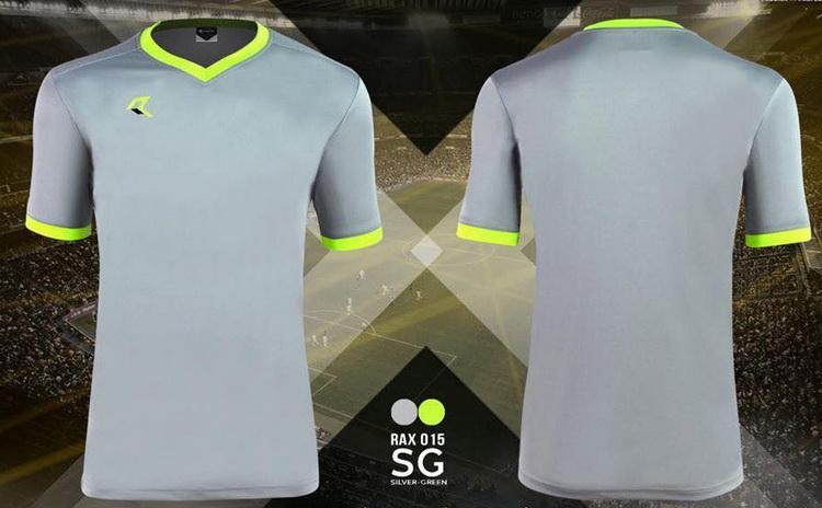เสื้อกีฬา เรียล real รุ่น rax-015 (สีเทา sg)
