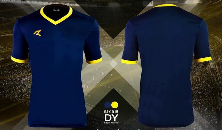 เสื้อกีฬา เรียล real รุ่น rax-015 (สีกรม dy)