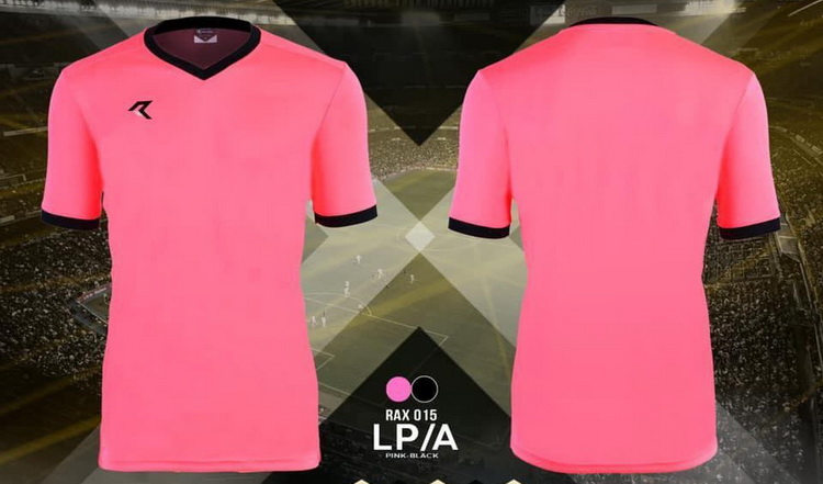 เสื้อกีฬา เรียล real รุ่น rax-015 (สีชมพู lpa)