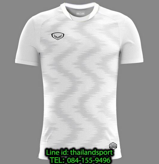 เสื้อกีฬา แกรนด์ สปอร์ต grand sport รุ่น 011-543 (สีขาว)