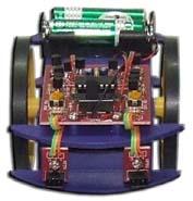 60103 หุ่นยนต์เดินหลบสิ่งกีดขวาง (เป็นชุดฝึกบัดกรีและอ่านอุปกรณ์อิเล็กฯ)