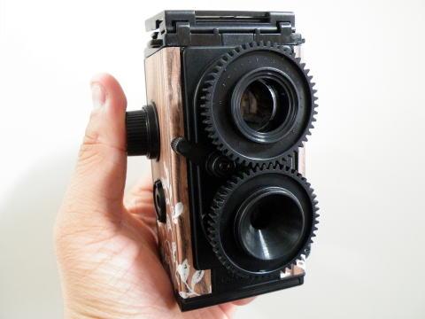 80025 กล้องถ่ายรูปทำเอง ฟิลม์ 35mm(Gakken flex 35mm twin lens reflex Kit)