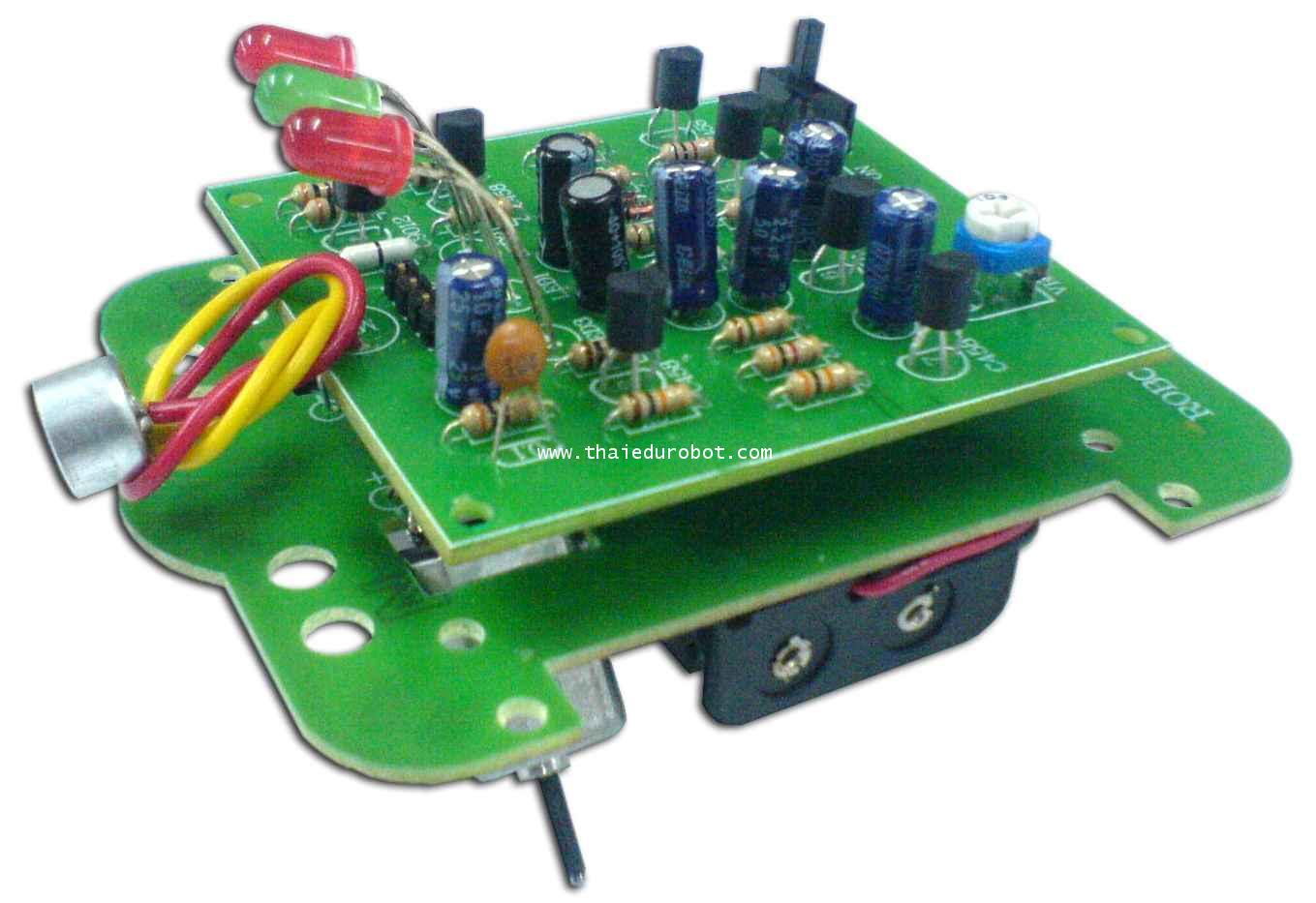 21104 หุ่นยนต์ SECON ควบคุมด้วยเสียง ประกอบแล้ว