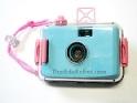 81002 กล้องกันน้ำ สีฟ้า + ฟิลม์ kodak color plus 200 (35mm iso 200)