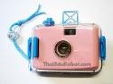 81003 กล้องกันน้ำ สีชมพู + ฟิลม์ kodak color plus 200 (35mm iso 200)