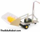 70162-2 ชุดประกอบหุ่นยนต์แบบตักสิ่งของ ชนิดล้อ