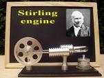 51029 หมดครับ แบบจำลองเครื่องยนต์สเตอร์ลิง (Stirling engine) เครื่องยนต์ความร้อน