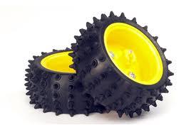 70194 ล้อยาง วิบาก แบบหนาม(Spike Tire) 1 คู่