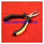 305 คีมปากโค้ง ชนิดมีฟัน (mini bent nose plier with teeth)
