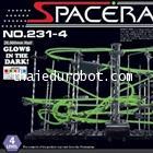 92314a รางลูกเหล็ก ระดับ 4 เรืองแสง (Glows in the Dark)