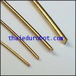 34123 ลวดทองเหลือง ชนิดแข็ง เส้นผ่าศูนย์กลาง 0.6 mm ยาว 5 เมตร