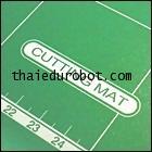 34002 แผ่นยางรองตัด ขนาด A2 (42 x 59.4 cm) made in Taiwan