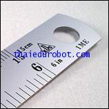 280 ไม้บรรทัด ฟุตเหล็ก 6 นิ้ว ของ KDS (From Japan)