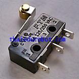 10102 ไมโครสวิทช์ ของไต้หวัน ชนิดมีล้อ 5A 125/250VAC